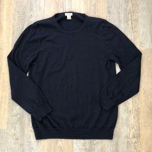 J.Crew Factory Navy Blue Sweater Small